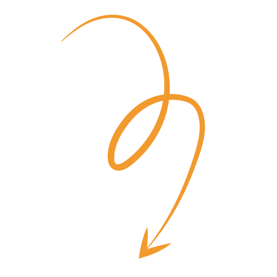 Orange Arrow leading to bottom